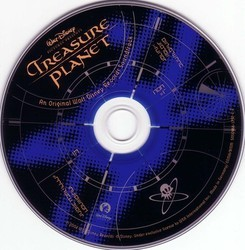 Treasure Planet Soundtrack (James Newton Howard) - cd-inlay