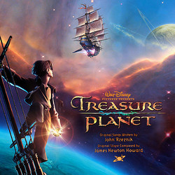Treasure Planet Soundtrack (James Newton Howard) - CD cover