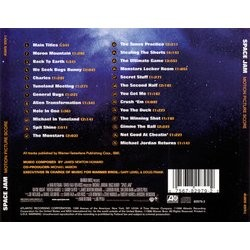 Space Jam Colonna sonora (James Newton Howard) - Copertina posteriore CD
