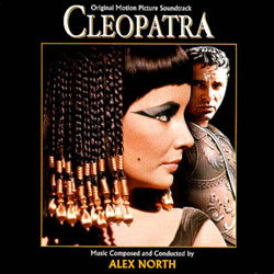 Cleopatra Soundtrack (Alex North) - CD cover