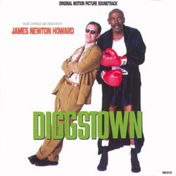 Diggstown Soundtrack (James Newton Howard) - CD cover