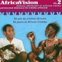 Africa Vision Vol. 2 Soundtrack (Various Artists) - CD-Cover