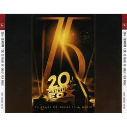 20th Century Fox: 75 Years Of Great Film Music Soundtrack (Various Artists) - CD-Cover