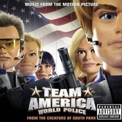 Team America: World Police Soundtrack (Various Artists, Harry Gregson-Williams) - CD cover