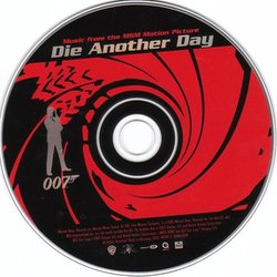 Die Another Day Soundtrack (David Arnold) - cd-inlay