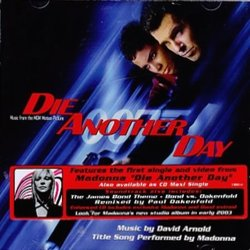 Die Another Day Soundtrack (David Arnold) - CD cover
