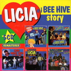 Licia e i Bee Hive Story Soundtrack (Various Artists) - CD cover
