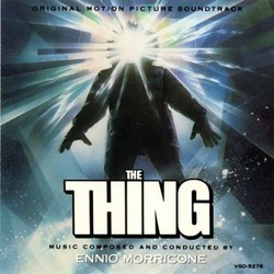 The Thing Soundtrack (Ennio Morricone) - CD cover