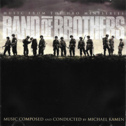 Band of Brothers Soundtrack  (Michael Kamen) - CD cover