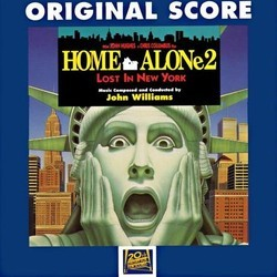 Home Alone 2: Lost in New York Soundtrack (John Williams) - CD cover