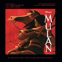 Mulan Soundtrack (Various Artists, Jerry Goldsmith) - CD-Cover