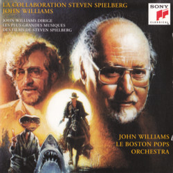 La Collaboration Steven Spielberg / John Williams 声带 (John Williams) - CD封面
