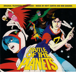 Battle of the Planets Soundtrack (Hoyt Curtin, Bob Sakuma) - CD-Cover
