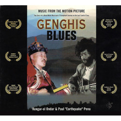 Genghis Blues Soundtrack (Kongar-ol Ondar, Paul Pena) - CD cover