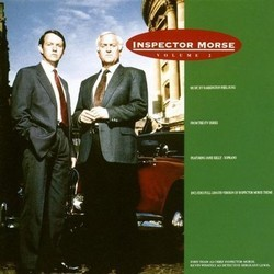 Inspector Morse (Volume 2) Soundtrack (Barrington Pheloung) - CD cover