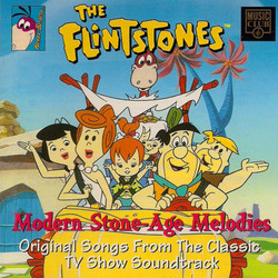 The Flintstones Soundtrack (Various Artists, Joseph Barbera, Hoyt Curtin, William Hanna) - CD cover