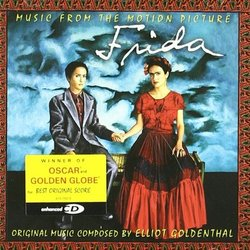 Frida Soundtrack (Various Artists, Elliot Goldenthal) - CD cover