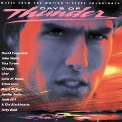 Days of Thunder Soundtrack (Various Artists) - CD cover