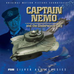 Captain Nemo and the Underwater City Soundtrack (Angela Morley) - CD cover