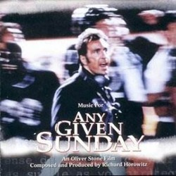 Any Given Sunday Soundtrack  (Richard Horowitz, Paul Kelly) - CD cover