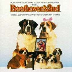 Beethoven's 2nd Soundtrack (Randy Edelman) - CD cover