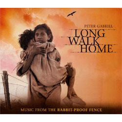 Long Walk Home Soundtrack (Peter Gabriel) - CD cover