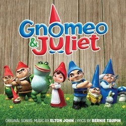 Gnomeo and Juliet 声带 (James Newton Howard, Elton John) - CD封面