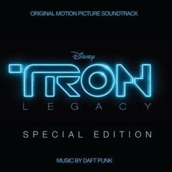 TRON: Legacy Soundtrack (Daft Punk) - CD cover