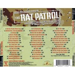 The Rat Patrol Soundtrack (Dominic Frontiere) - CD Trasero