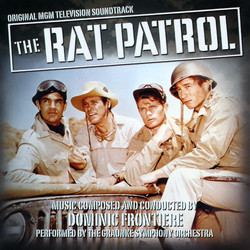 The Rat Patrol Soundtrack (Dominic Frontiere) - Carátula
