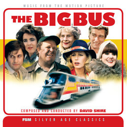 The Big Bus Soundtrack (David Shire) - Carátula