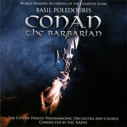 Conan the Barbarian Soundtrack (Basil Poledouris) - CD cover