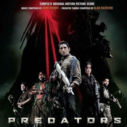 Predators Soundtrack (John Debney, Alan Silvestri) - CD-Cover