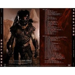 Predators Soundtrack (John Debney, Alan Silvestri) - CD Trasero