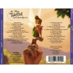 Tinker Bell and the Great Fairy Rescue Soundtrack (Joel McNeely) - CD Trasero
