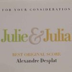 Julie & Julia Colonna sonora (Alexandre Desplat) - Copertina del CD