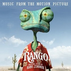 Rango Soundtrack (Various Artists, Hans Zimmer) - CD cover