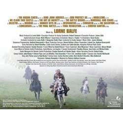 Ironclad Soundtrack (Lorne Balfe) - CD Back cover