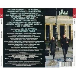 Unknown Soundtrack (John Ottman, Alexander Rudd) - CD Trasero