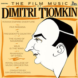 The Film Music of Dimitri Tiomkin 声带 (Dimitri Tiomkin) - CD封面