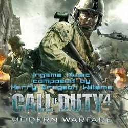 Call of Duty 4: Modern Warfare Trilha sonora (Stephen Barton, Harry Gregson-Williams) - capa de CD