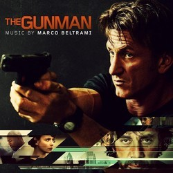 The Gunman Soundtrack (Marco Beltrami) - CD cover
