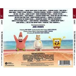 The SpongeBob Movie: Sponge Out of Water Soundtrack (John Debney) - CD Back cover