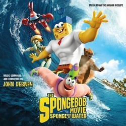 The SpongeBob Movie: Sponge Out of Water Soundtrack (John Debney) - CD cover
