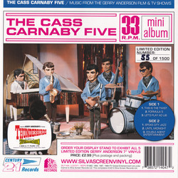 The Cass Carnaby Five Soundtrack (Barry Gray) - CD cover