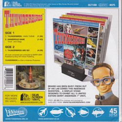 Thunderbirds Soundtrack (Barry Gray) - CD Achterzijde