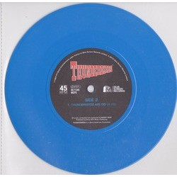 Thunderbirds Soundtrack (Barry Gray) - cd-inlay