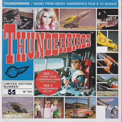 Thunderbirds Soundtrack (Barry Gray) - CD cover