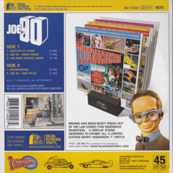 Joe 90 Soundtrack (Barry Gray) - CD Achterzijde