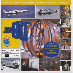 Joe 90 Soundtrack (Barry Gray) - CD cover